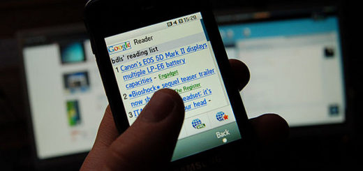 google reader on mobile