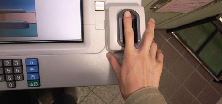 Biometric authentication via Fingerprint
