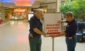 A mall in Oklahoma deplyying RaaS services